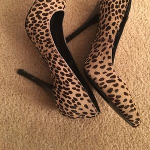 Steve Madden ladies high heel shoes size 6